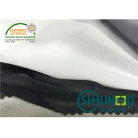 Buy cheap 30D * 30D Medium Weight Fusible Interfacing , Stretch Interfacing Sports Fabric C3032PS from wholesalers