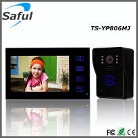 Buy cheap Handfree 7'' color TFT LCD Electric lock-control apartment wired video door phone intercom system from wholesalers