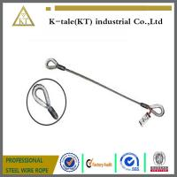 Buy cheap 1/4 Single Leg Thimble and Thimble Wire Rope Slings from wholesalers