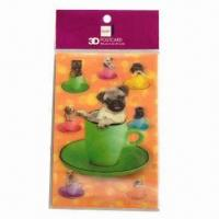 Buy cheap 3D Lenticular Post Card, Fresh and Clear Colors product