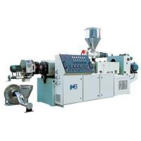 Buy cheap PVC Plastic Granules Machine , High Speed Pellet Extruder from wholesalers