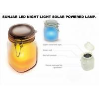 Buy cheap Sun light Jar Frosted glass is an ingenious portable solar powered light. It looks like a storage jar product