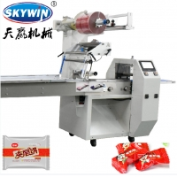 Buy cheap 3 Servo Automatic Controlled Flow Pillow Biscuit Sugar Packing Machine Single Phase from wholesalers