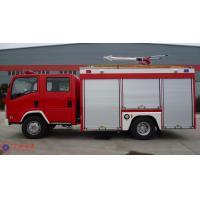139KW Max Power Heavy Rescue Fire Truck Fuel Tank 100L AKRON Fire Monitor