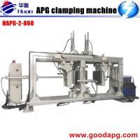 Buy cheap Double-station APG clamping machine Epoxy resin pressure gel molding machine winding machine for current transformer product