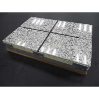 Buy cheap Thermal Insulation Fireproof Fiber Cement Board Rock Wool Sandwich Panel from wholesalers