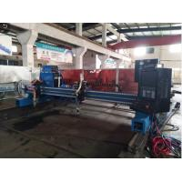 Buy cheap Flame Metal CNC Cutting Machine , THC Automated Industrial Plasma Cutter from wholesalers