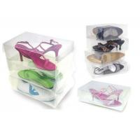 Buy cheap see through men's shoe storage box, clear plastic shoe box design from wholesalers