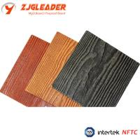 Buy cheap wood grain fiber cement siding panel, exterior wall cladding, walling, partition, cladding from wholesalers