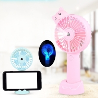 Buy cheap Portable Water Spray Fan , Handheld Misting Fan With Water Meter Spray from wholesalers