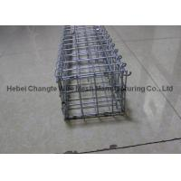 Buy cheap High Security Galvanized Welded Wire Stone Baskets , Anti - Rust Garden Gabion Baskets from wholesalers