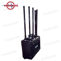 Buy cheap Pelican Shell 75W Drone Frequency Jammer , Anti Drone Jammers 27V 20Ah Power Supply from wholesalers