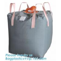 Buy cheap bulk bag for cement ton bag 100% pp woven big jumbo bag reinforce FIBC,Factory directly sell pp woven big bags of Bottom from wholesalers