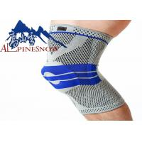 Buy cheap Compression Knee Sleeve 3D Silicone Pads Knee Support Brace High Elastic Fabric from wholesalers