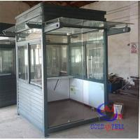 Buy cheap Colored Steel Material Prefabricated Security Guard Booths For Community from wholesalers
