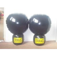 Buy cheap PVC inflatable punching bag PVC inflatable boxing gloves from wholesalers
