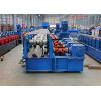 Buy cheap Highway Guardrail Roll Forming MachineElectrical Automatic Control 0 - 15000 mm / min Forming Speed product