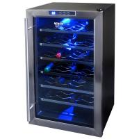 Buy cheap 22 bottles commercial compressor wine refrigerator from wholesalers