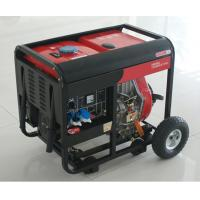 Buy cheap AC SIngle Phase 50HZ/4.6KW Key Start silent diesel generators for home use and shop from wholesalers