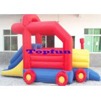 Buy cheap Snail Shape Commercial Bounce Houses With Slide Of PVC Coated 210D Nylon Fabric from wholesalers