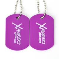 Buy cheap Plastic Custom Promotional Gifts Dog Tags Rubber Material Printing Custom With Ball Chain product