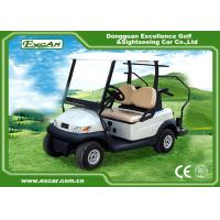 Buy cheap Excar Mini 2 Person Second Hand Golf Cars 48V Trojan Battery With Caddie Plate from wholesalers
