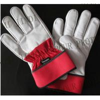 Buy cheap 10.5''leather safety working gloves from wholesalers