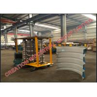 Buy cheap Metal Trapezoidal Profile Bull-nosing IBR Roof Sheeting Crimping Machine from wholesalers