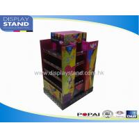 Buy cheap Display Bins , Pop up Display Tier Stand , Cardboard Retail 4 Sided Stand from wholesalers