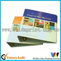 Buy cheap Brown cardboard fashion handmade document File Folders Support UV Coating from wholesalers