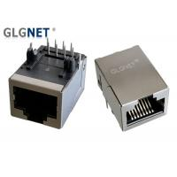 Buy cheap IEEE 802.3u Low Profile RJ45 Modular Jack Copper Alloy Preplated With Nickel from wholesalers