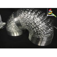 Buy cheap Grow Tent Aluminum Foil Ducting Polyester Sizes Customized Flexible Ducting from wholesalers