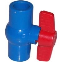 Buy cheap Compact 1/2 ~ 4  True Union Plastic PVC Ball Valve Floating For Water Supply from wholesalers