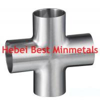 Buy cheap Sanitary Cross, Sanitary Pipe Fittings, Tee, Elbow, Reducer, Flange from wholesalers