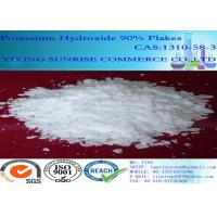 Buy cheap Pharmaceutical Intermediates White Potassium Hydroxide Flakes Solid CAS 1310-58-3 from wholesalers