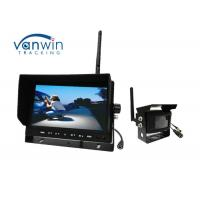 Buy cheap Wireless HD TFT Car Monitor , 24V Wireless Reversing camera Kit for Truck from wholesalers