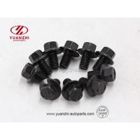 Buy cheap Custom Black Hexagon Flange Bolt Wholesale from wholesalers
