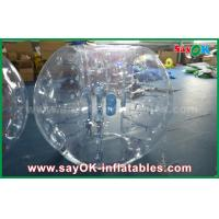 Buy cheap 0.8mm PVC Adult Inflatable Human Bubble Zorb Soccer Ball For Sports Games from wholesalers