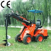 Buy cheap small front end loader DY620 with earth auger product