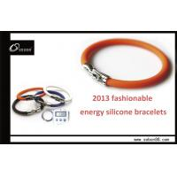 Buy cheap Adjustable Size Colorful Wrist Band Power Balance Silicone Bracelet from wholesalers
