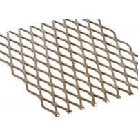 Buy cheap Stainless Steel Expanded Metal Wire Mesh Corrosion Resistance Thickness 0.3mm-8mm from wholesalers
