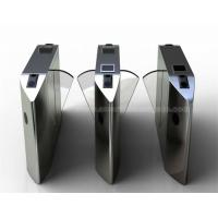 Buy cheap Face Recognition RFID magnetic card Pedestrian Manual Turnstile Swing Barrier Gate for Bank from wholesalers