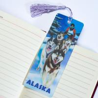 Buy cheap 3D Animal Bookmarks 3D Lenticular Bookmark PET Material CMYK Printing from wholesalers
