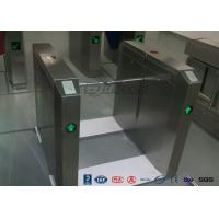 Buy cheap 13.56Mh RFID Durable Security Pedestrian Barrier Gate Drop Arm For Public Facility from wholesalers