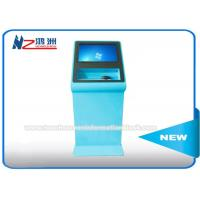 Buy cheap Custom Self Service Library Kiosk With Metal Keyboard For University Education from wholesalers