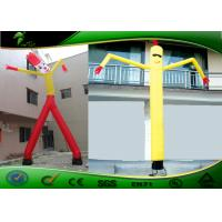 Buy cheap Digital Printing 10mH Inflatable Air Dancers , Inflatable Wavy Arm Guy from wholesalers