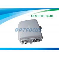 Buy cheap Mini Optical Fiber Termination Box 0.2dB Two 1x8 plug 62kpa - 106 kpa Atmospheric Pressure from wholesalers