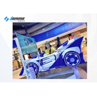 Buy cheap 65 Inch Screen 360 Flying Car Driving Simulator Racing Car For Game Center from wholesalers