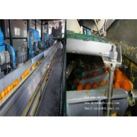 Buy cheap 6000L / H Orange Fruit Juice  Processing Machine With Fresh Fruits Treatments from wholesalers