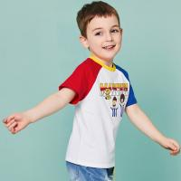 Buy cheap O - Neck Cotton Children's Style Clothing Color Combination / Baby Boy T Shirt from wholesalers